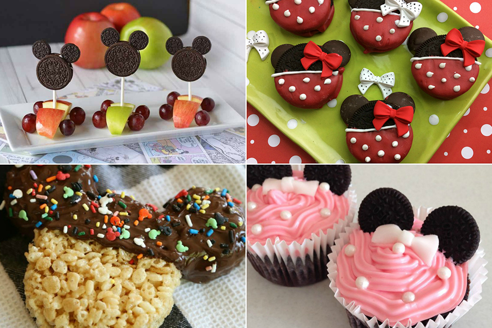 Mickey Mouse Snack Ideas
