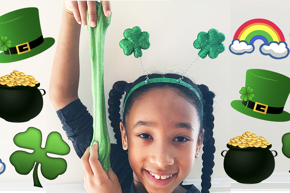St Patricks Day Slime