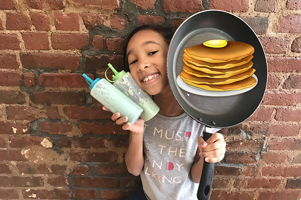 Pancake Drawing Challenge
